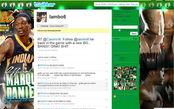 Daniels twitter