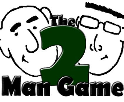 Two man logo