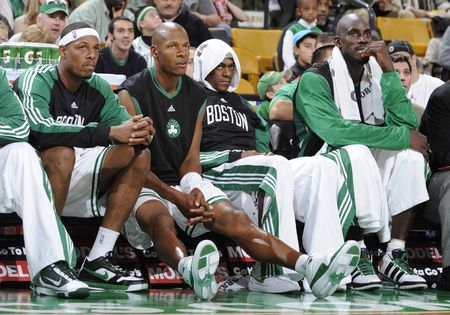 Starters on bench
