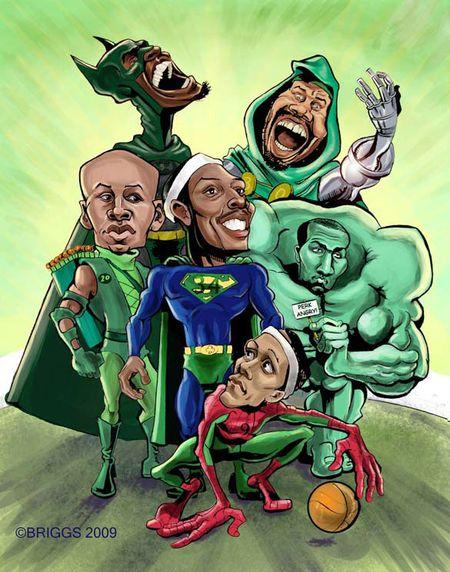 Celtics superheros