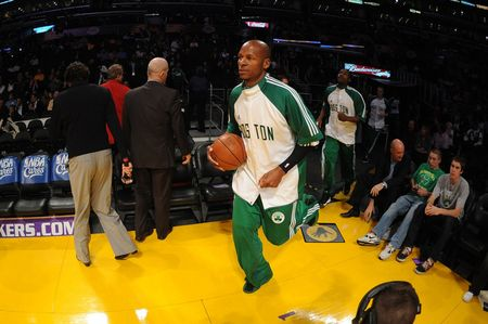 Ray allen tunnel