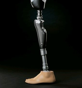 Prosthetic-leg