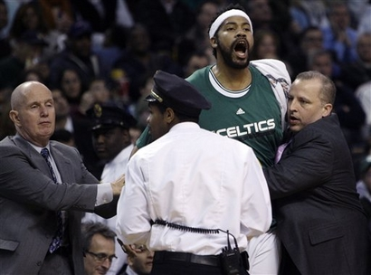 Sheed yelling
