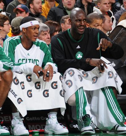 KG on the bench