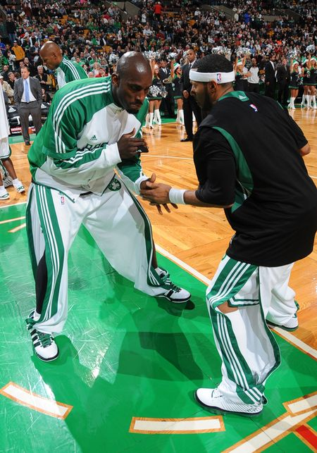 KG and Eddie