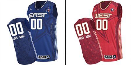 All star jerseys