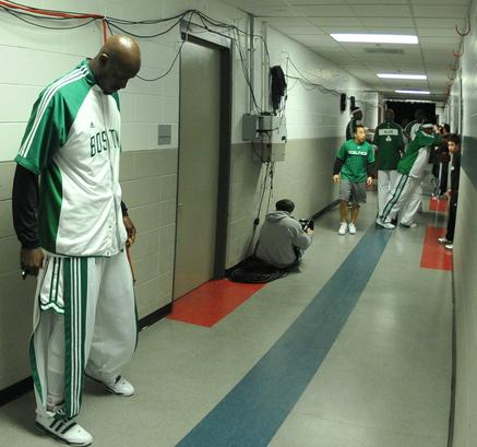 KG on the wall