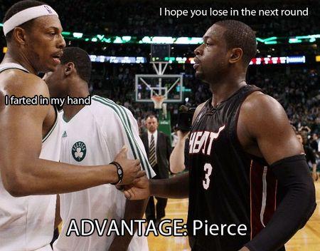 Pierce wade