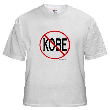 Anti kobe shirt