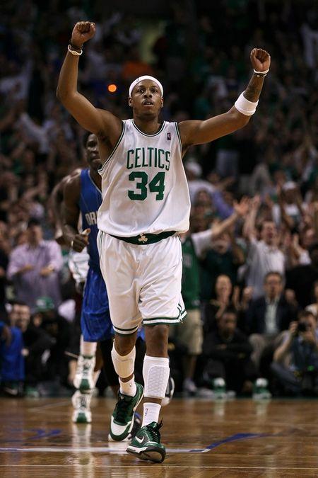 Pierce arms raised 3