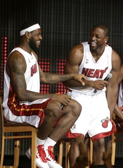 Wade and lebron