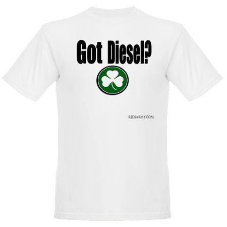 Diesel white shirt