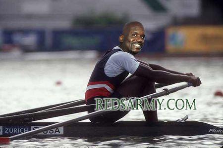 Shaq the rower