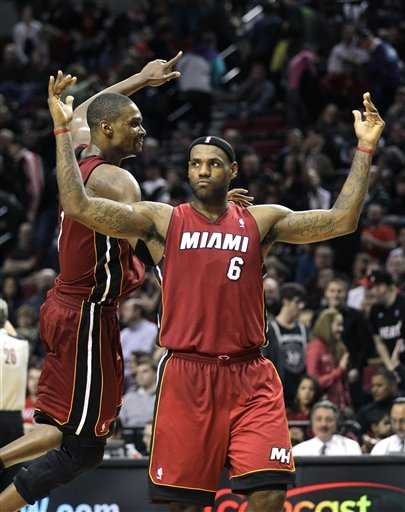 Lebron and bosh