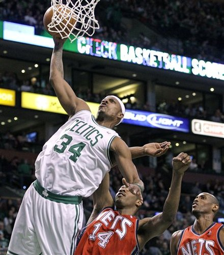 Pierce dunks on NJ
