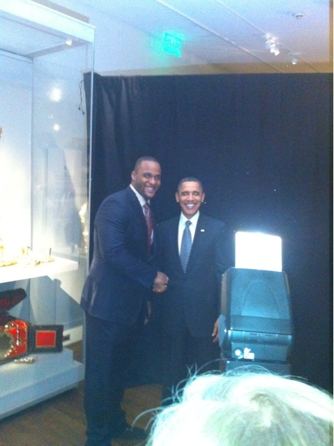 Big baby and obama