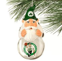 Celtics christmas ornament
