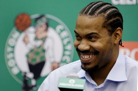 Sheed smiling
