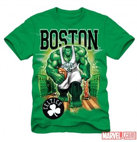 Celtics hulk shirt
