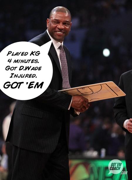 Doc got em coach