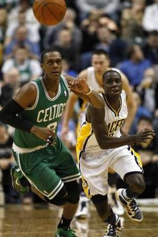 Rondo stripped by collison