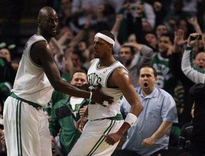 KG holds pierce