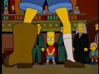 Simpsons boot
