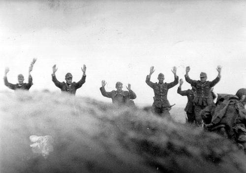 Surrendering Wehrmacht - Normandy Invasion