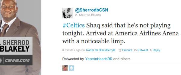 Sherrod tweet