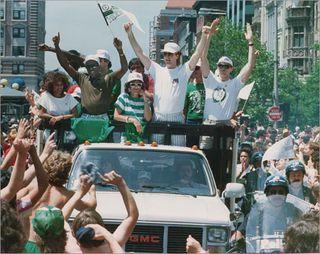 Celtics 86 parade