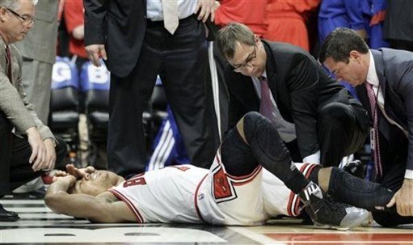 Derrick rose hurt