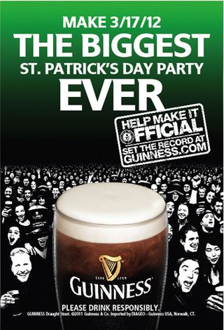 Guiness flyer