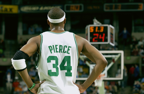 Paul pierce back