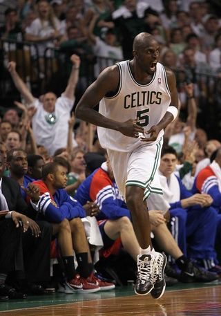 Kevin garnett angry face game 7 sixers